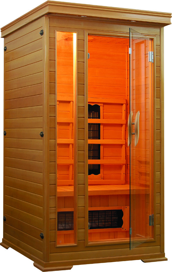 Small infra red home mini sauna room