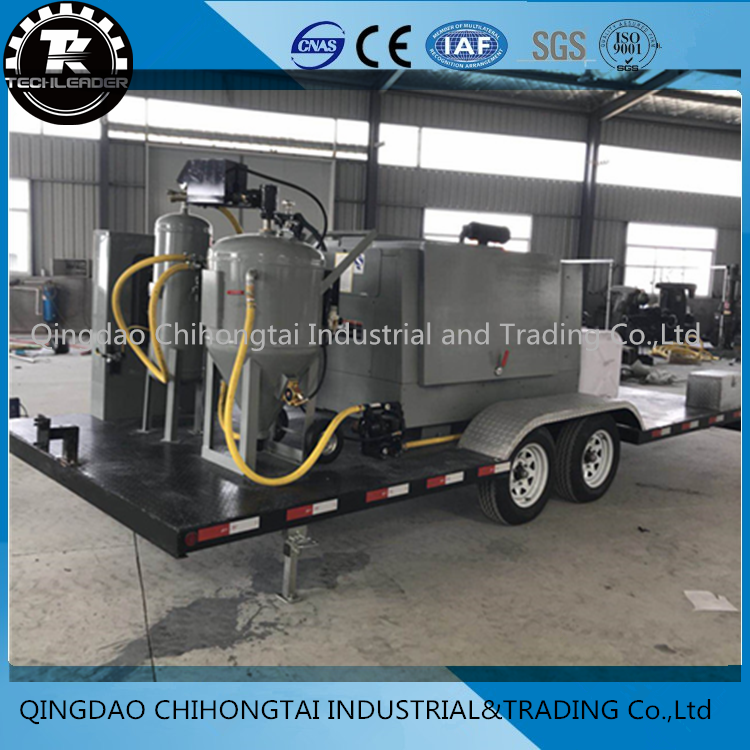 DB500 MOBILE DUSTLESS BLASTING TRAILER