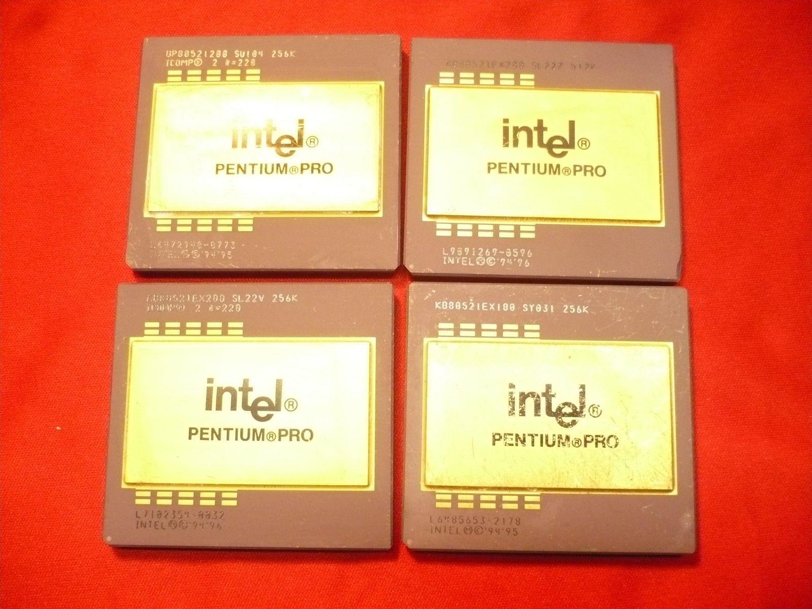 AMD K5 Ceramic Double Gold Cap CPU Processor, Ceramic Processor, Double Gold Cap CPU Chips, Gold Cap