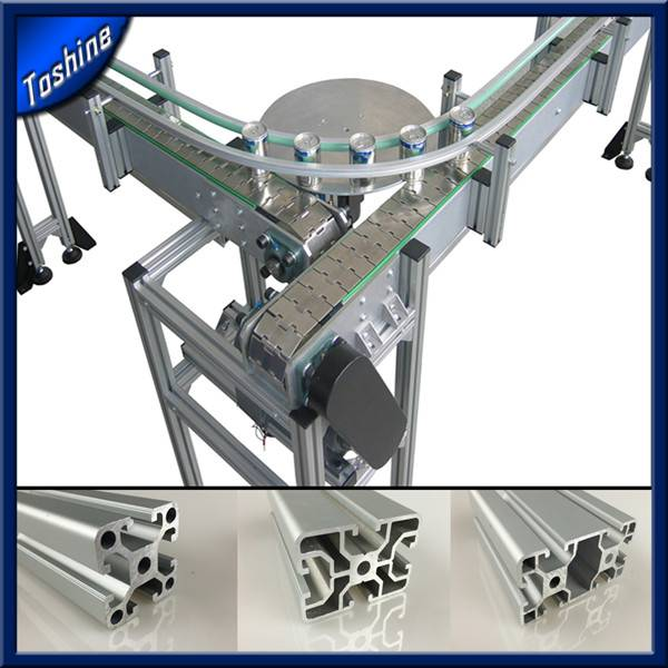 Extrusion T - Slotted Aluminum Profile Framing for Industrial Assembly material 6000 series T3-T8