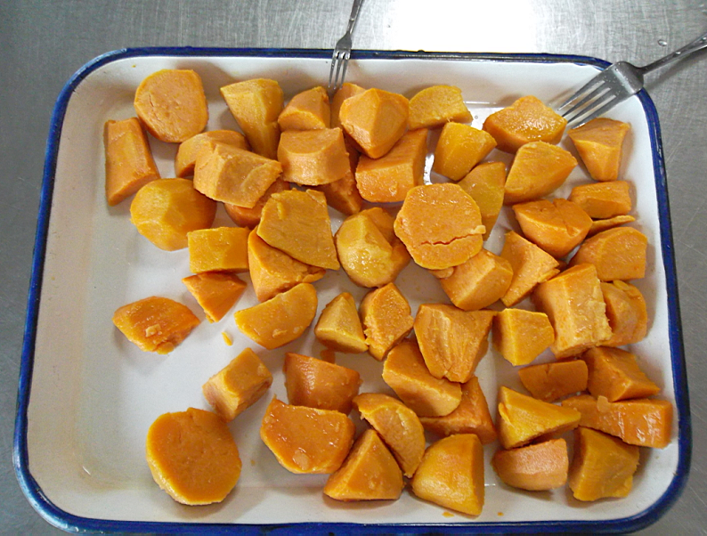 canned sweet potatos