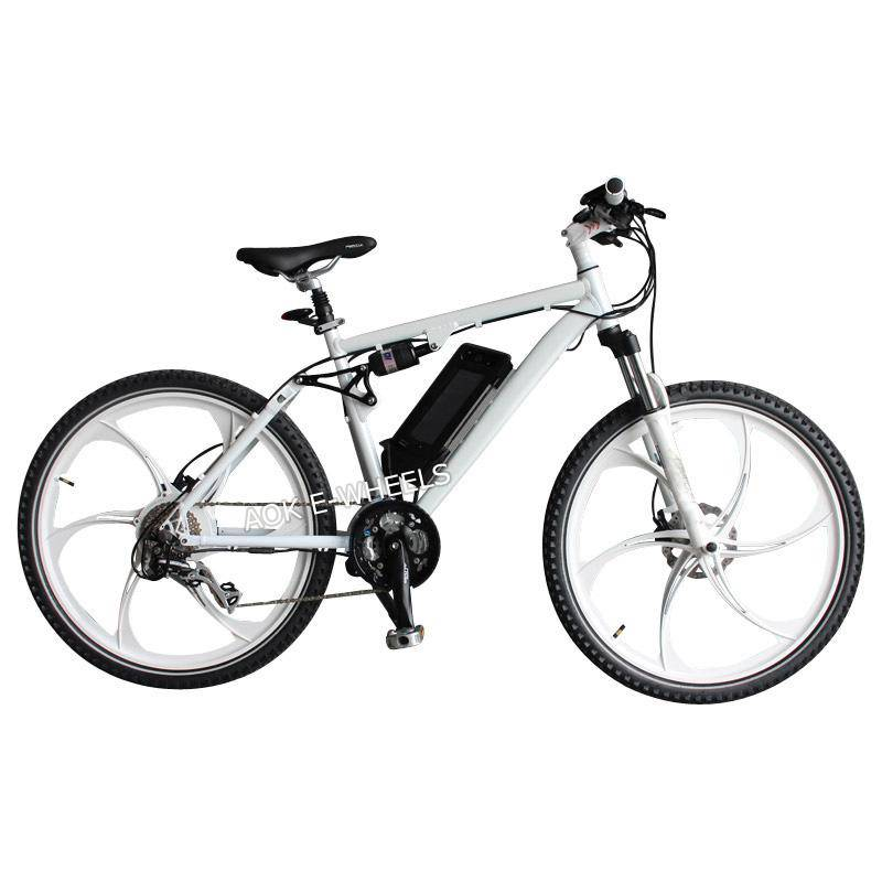250W Disk Brake Electric Bicycle with Lithium Battery (TDE-035F)