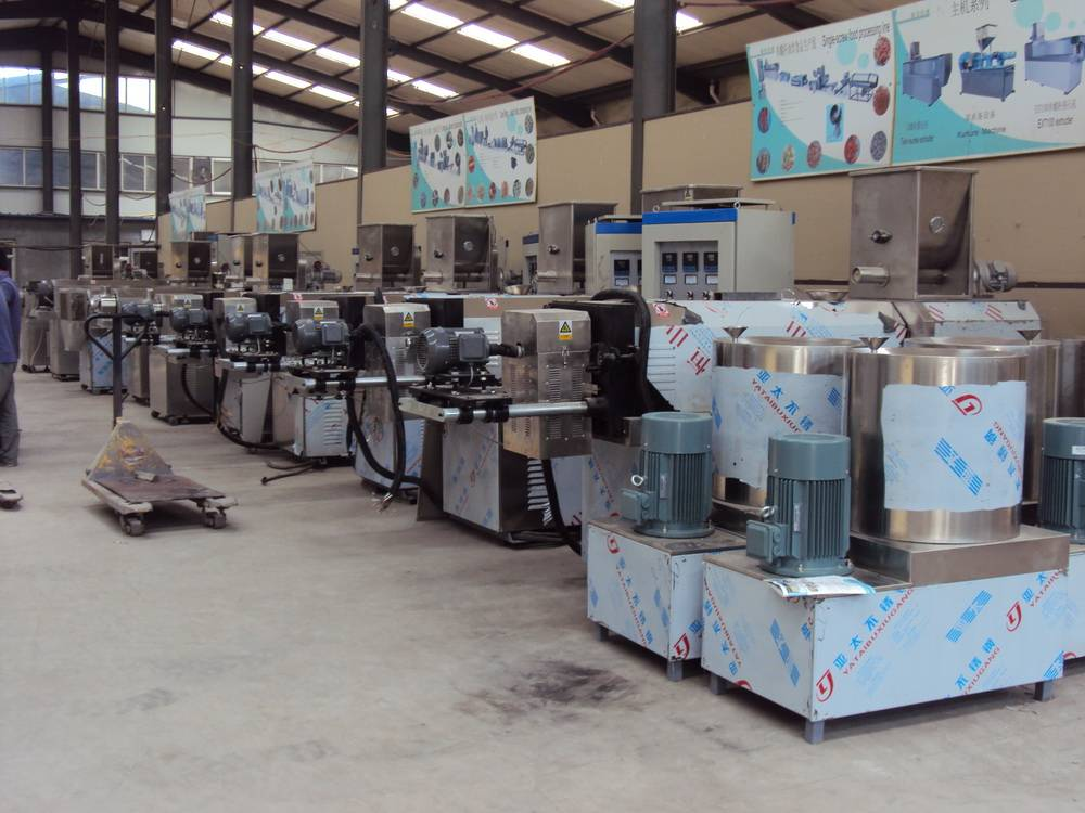 snax processing machinery line
