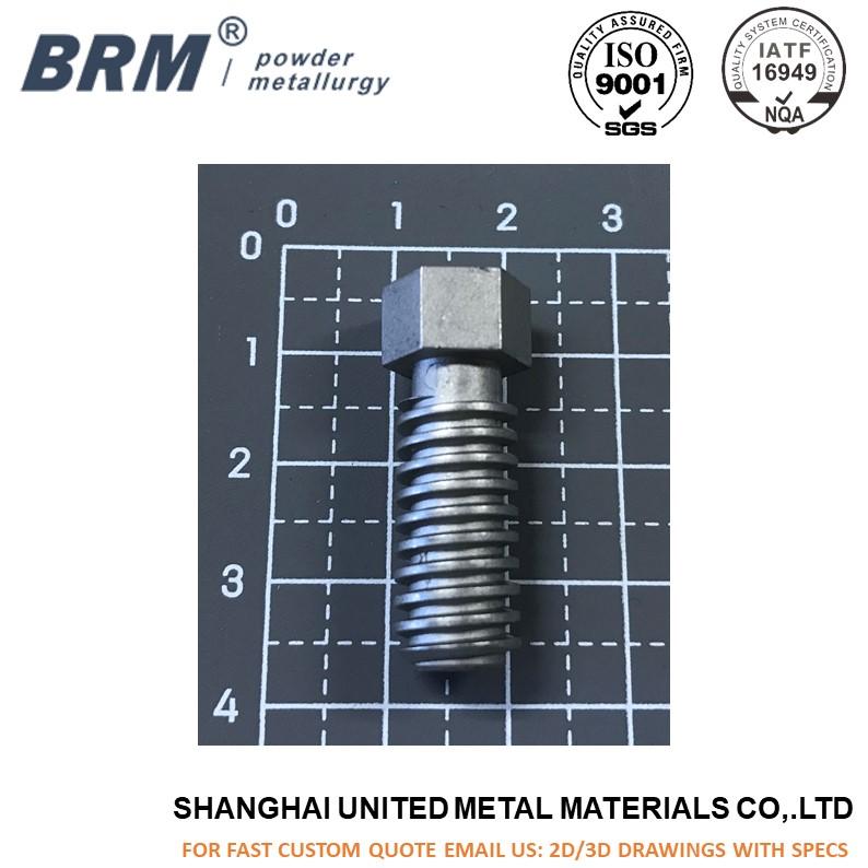 Machining steel screw CNC fasten component