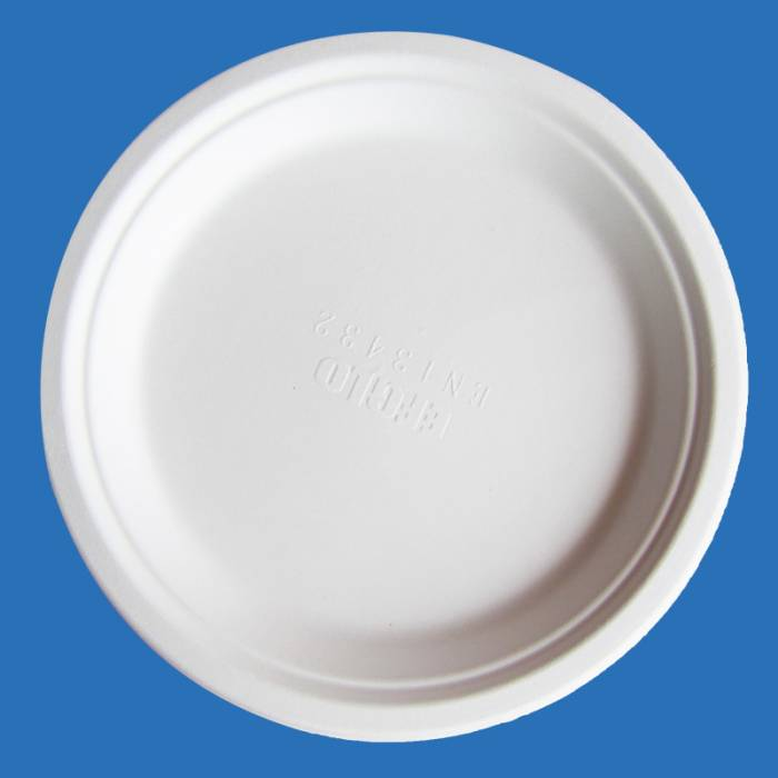 7 inch disposable white paper plate
