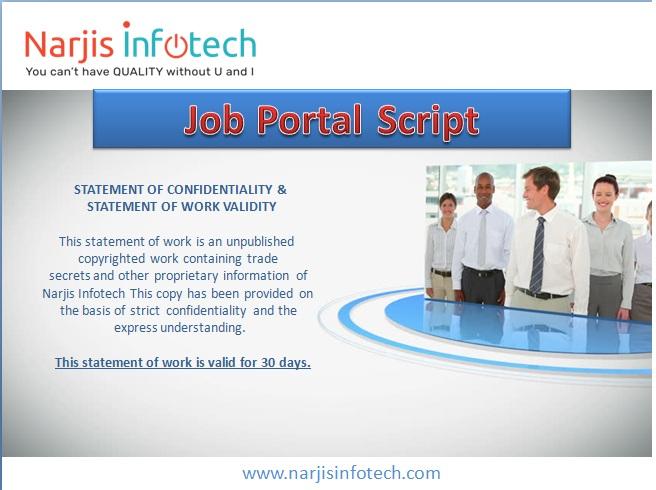 Job Portal Script