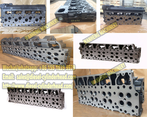Cylinder head 7N0848 FOR CAT 3412 ENGINE
