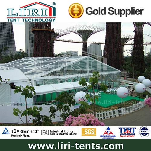 500 People Clear Tent Transparent Tent for Wedding and Party