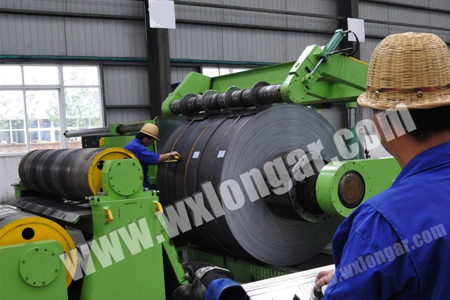 12 Mm Heavy Gage Slitting Line China