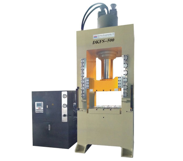 2018 high efficiency Servo Hydraulic Deep Drawing Press