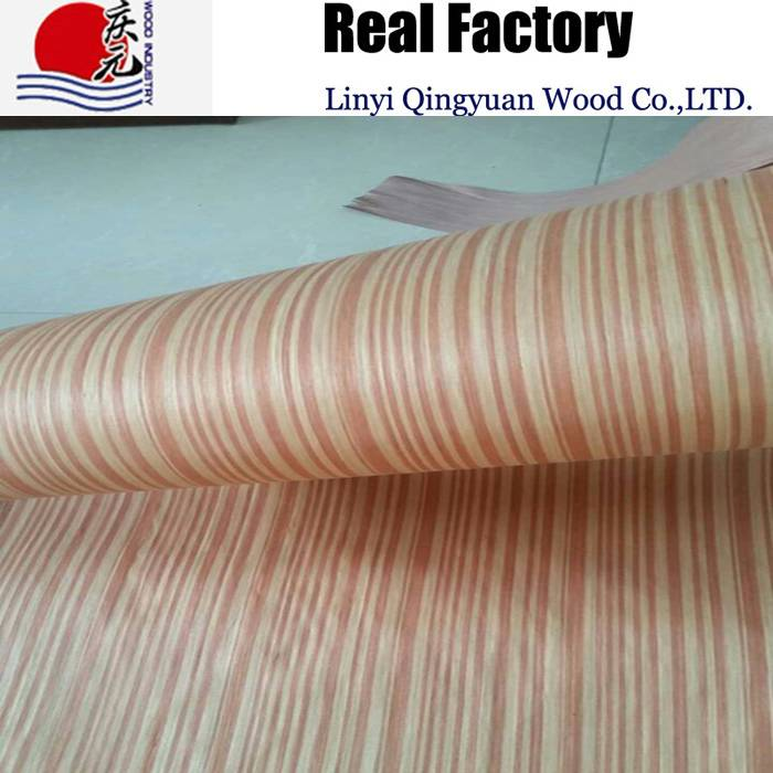 recon red teal wood veneer engineered red teak face veneer sliced cut for plywood face veneer