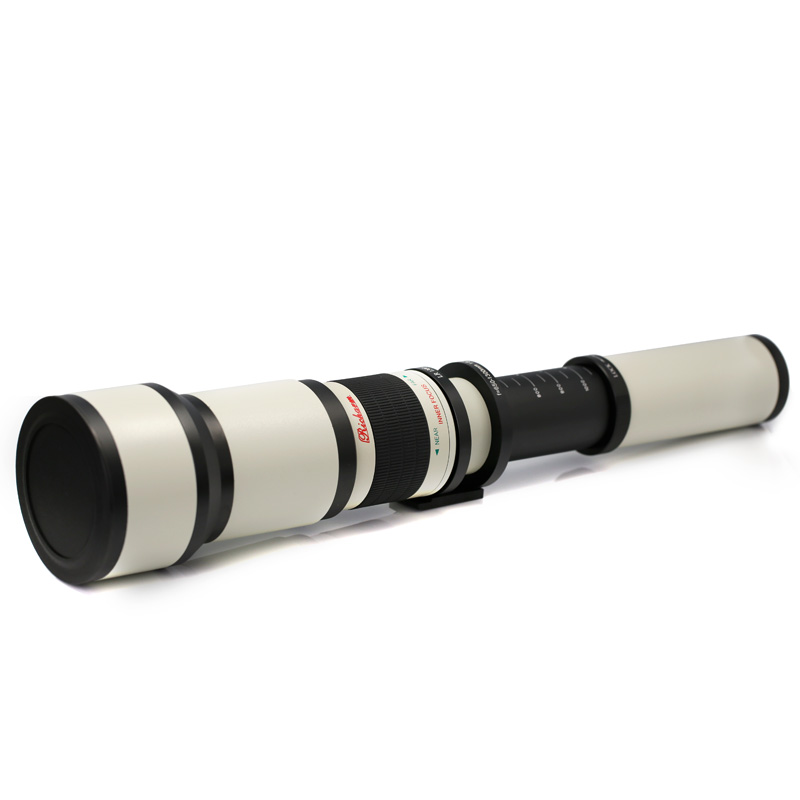 KAPKUR Super Telephoto Manual Focus 650-1300mm F/8 Camera Lenses For Nikon