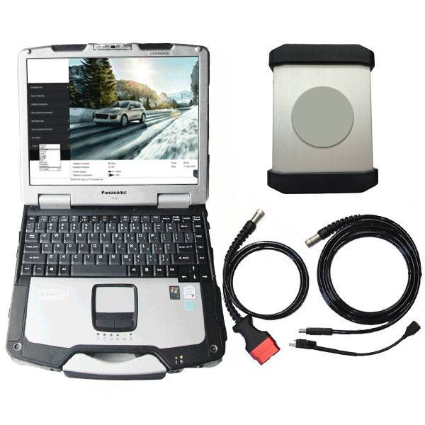 Porsche Piwis 2 With CF30 Laptop V15.600 Diagnostic Tool