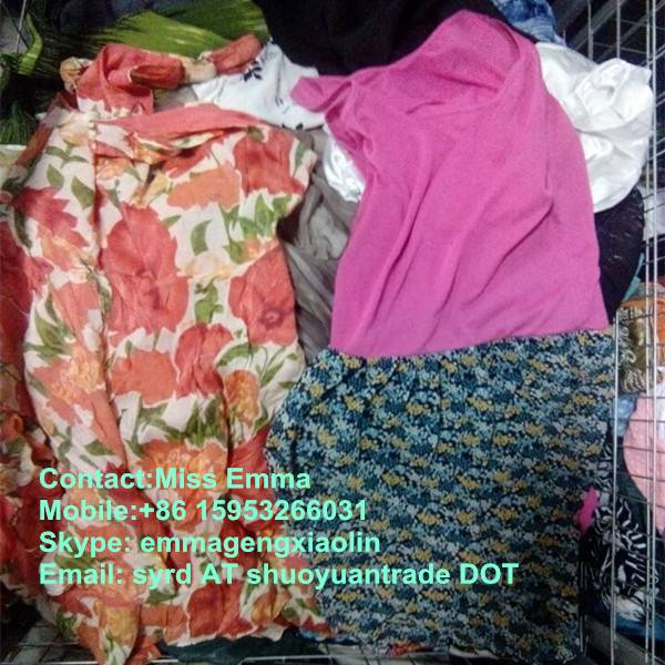 2014 top quality used clothing for africa for sale