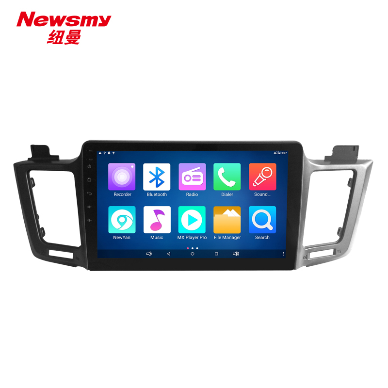 NM7115-H-H0 iFor Toyota RAV4 low ver. 13-15 no canbus Newsmy CarPad4 head unit Android 5.0 Newyan