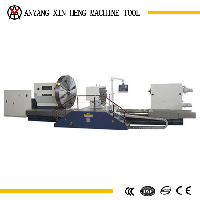 new condition cnc heavy duty lathe machine for metal cutting
