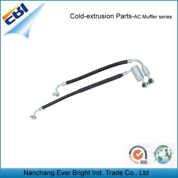 Hose and Muffler Assembly, wholesaler, LC-002-muffler for car air conditioner