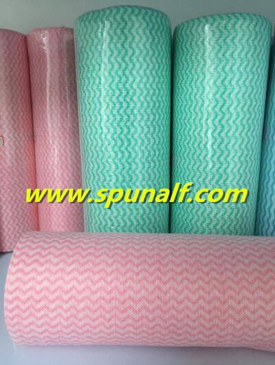 Cheap Custom printed soft  spunlace nonwoven fabric