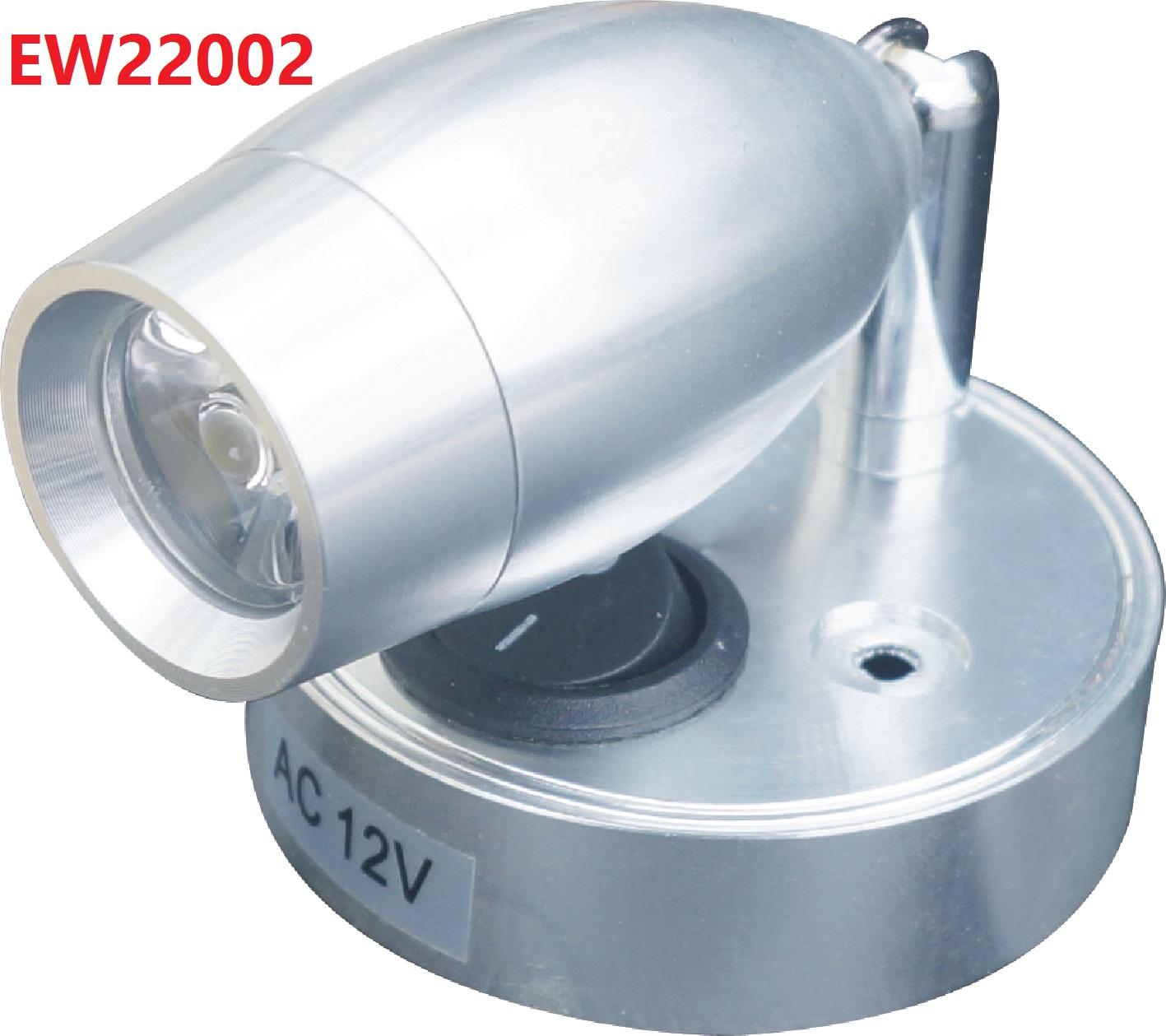 EW22002 Model AC12V Aluminum Led Reading Light