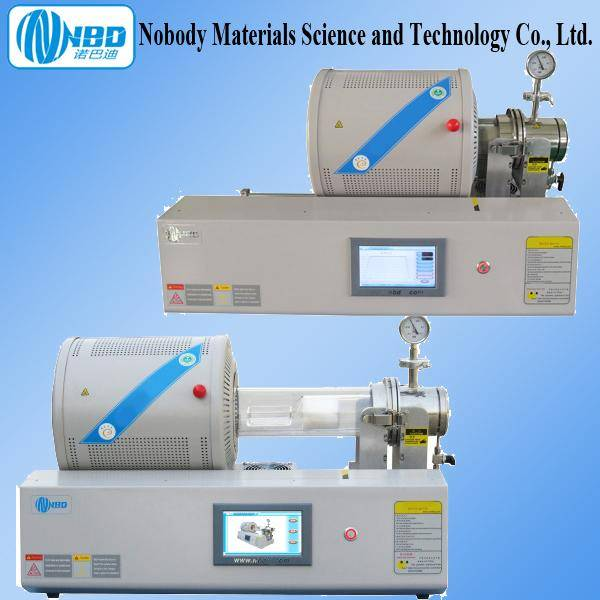 1100 RTP (Rapid Thermal Processing) 4 Inch Tube Furnace with LCD Touch Screen