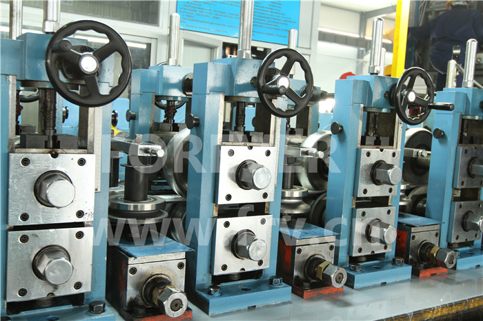 Phi 76High Frequency welded tube mill machinery