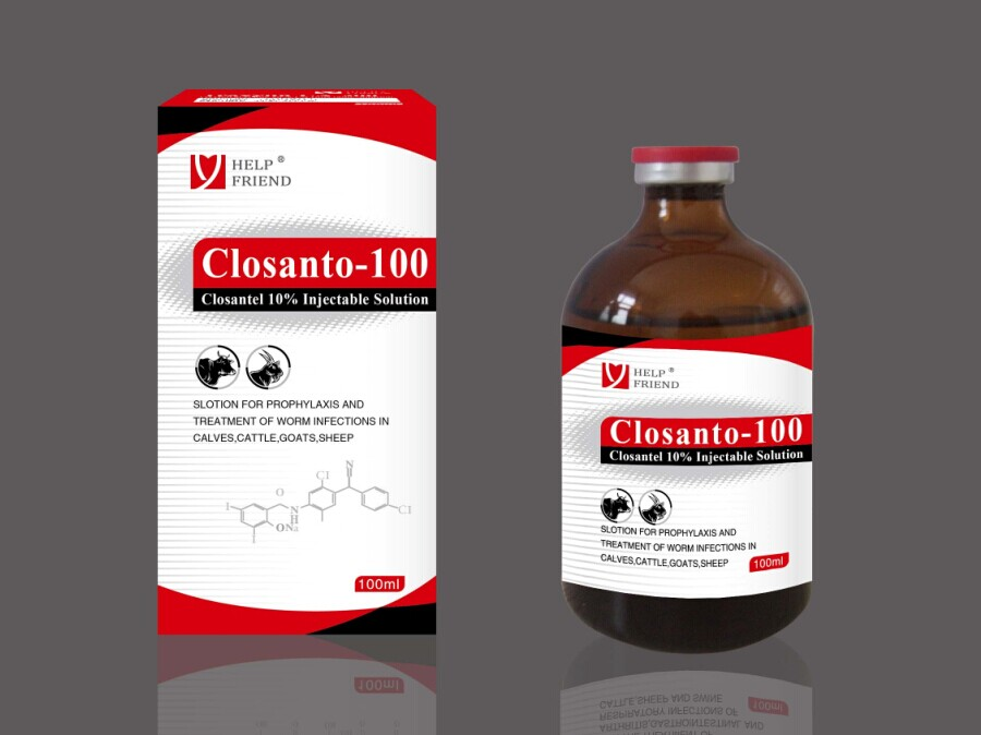 Closantel Sodium 10% Injectable Solution