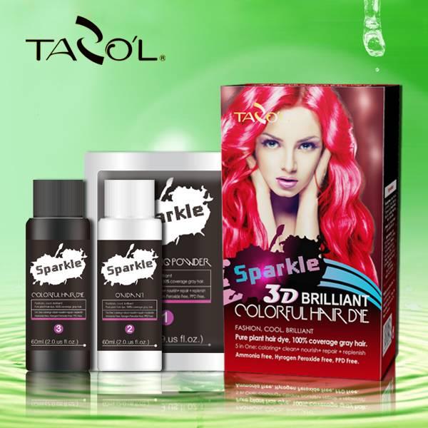 TAZOL Sparkle 3D Hair Color Cream