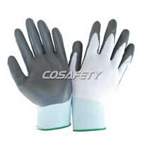 Grey nitrile gloves (1012)