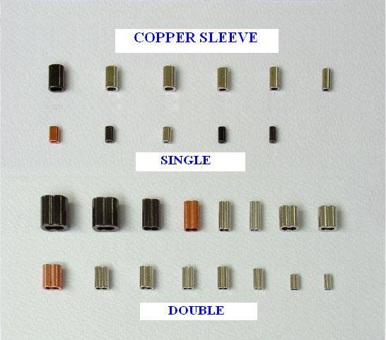 Crimp - Copper sleeve