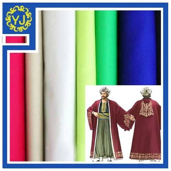 new design muslin abaya arab kafftan fabric thobe fabric