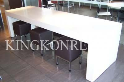 Artificial Marble Corian Kitchen Benchtop