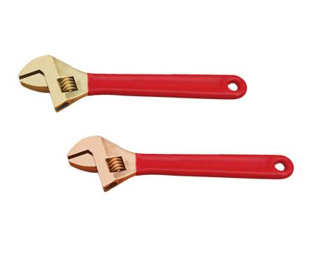 NonSparking NonMagnetic Adjustable Wrench/FM TUV GS UKAS APPROVED