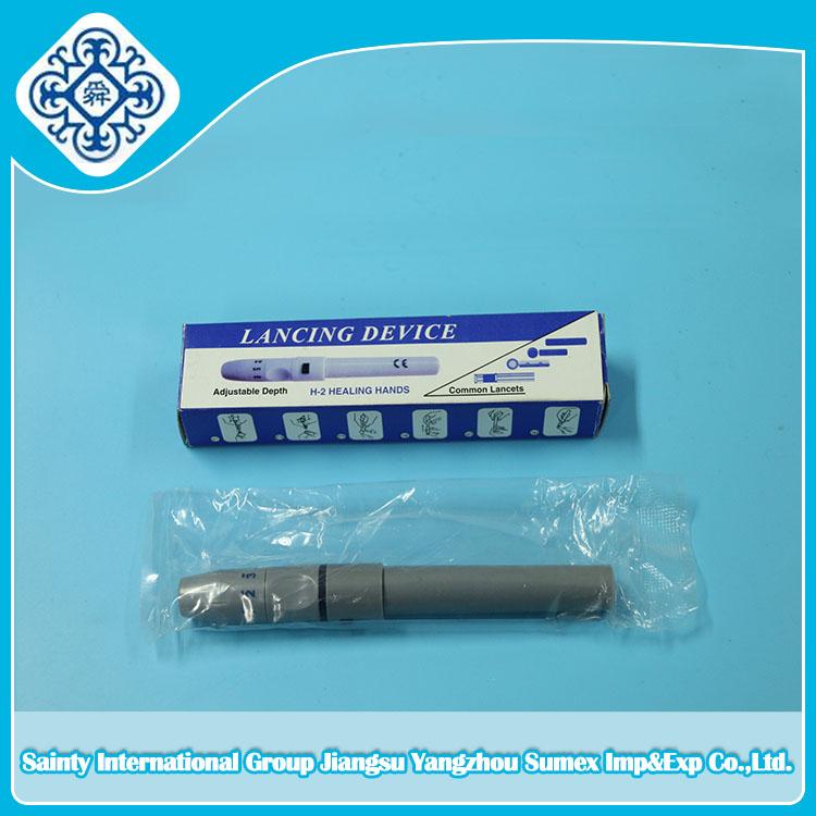 Hot Sales Safety blood lancet pen type blood lancing device
