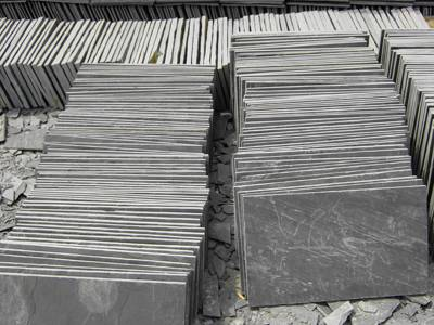 Black Flooring(Paving) Slate XXS-A02