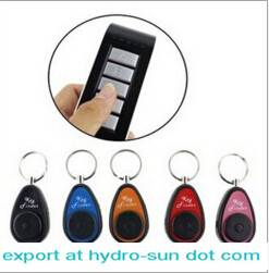 Wireless Electronic Key Finder Reminder With 5 Keychain Receivers For Lost Keys Locator Whistle Key