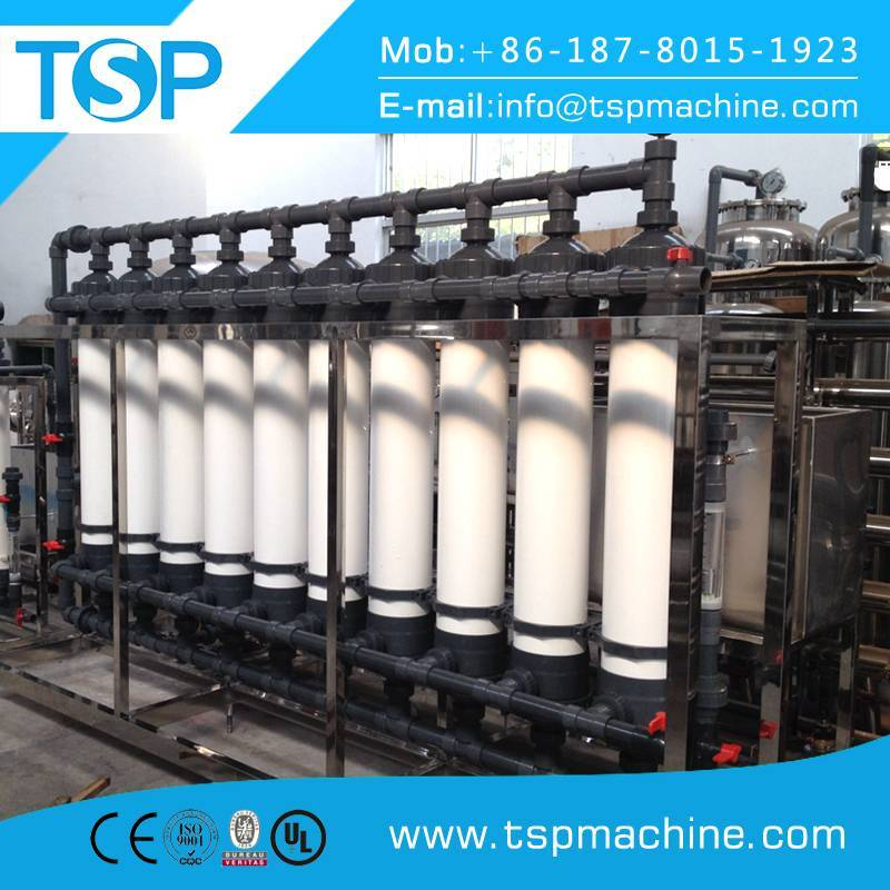 UF Hollow Fiber Filter Water Treatment System/Equipment for 1000~10000L/H