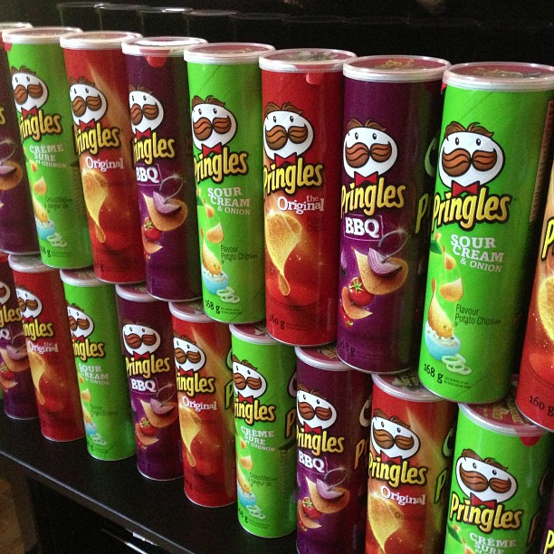 Pringle Potatoe Chips for sale