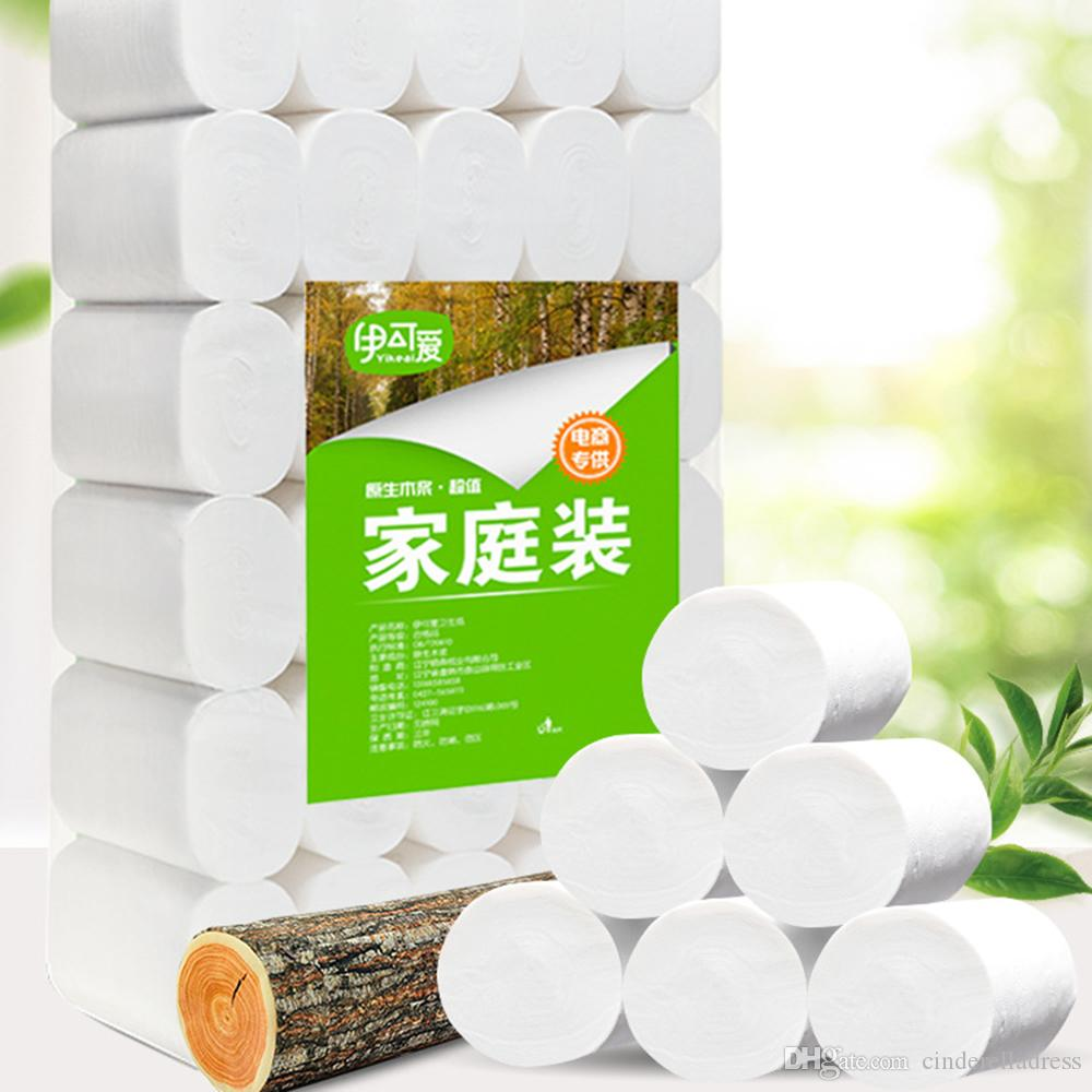 New In Stock White Toilet Paper Roll Tissue Pack Of 10 4Ply Towels Tissue Household toilet tissue