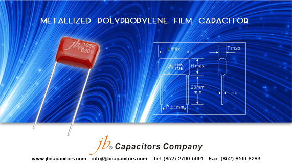 JFL--Metallized Polypropylene Film Capacitor