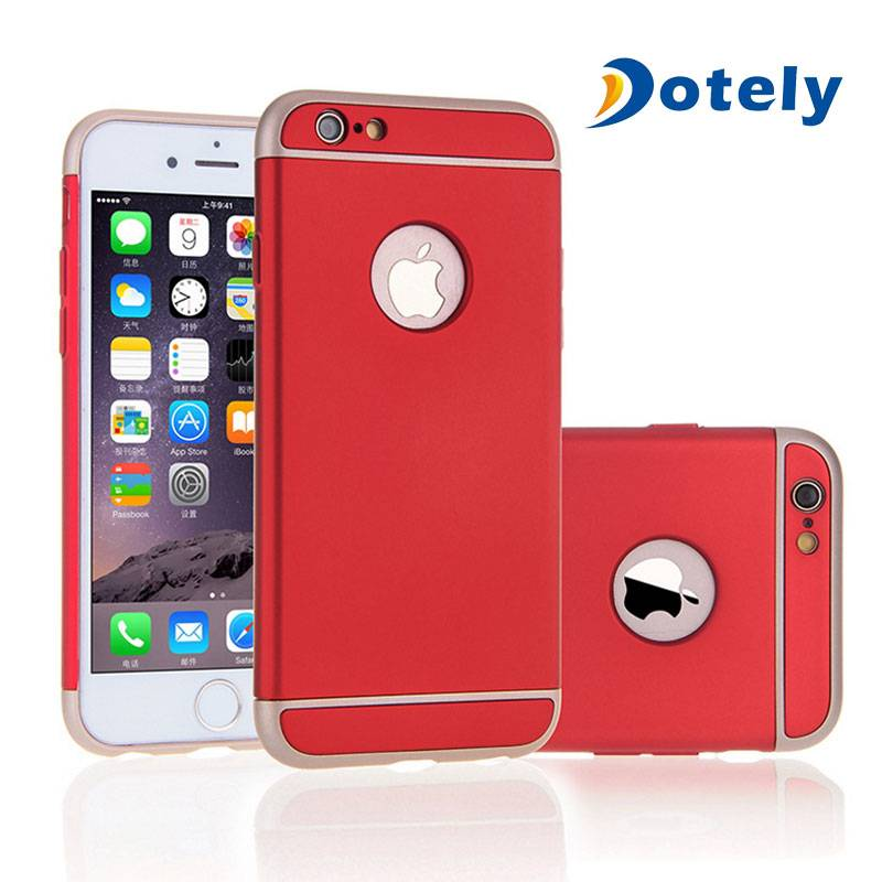3 in 1 Ultra Thin Hard Protective Luxury Case Cover with 360 Degree Rotating Ring Kickstand