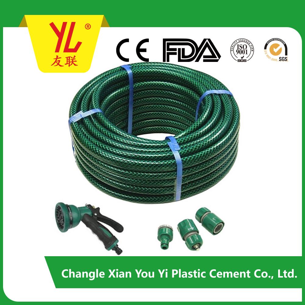 PVC fiber green garden hose