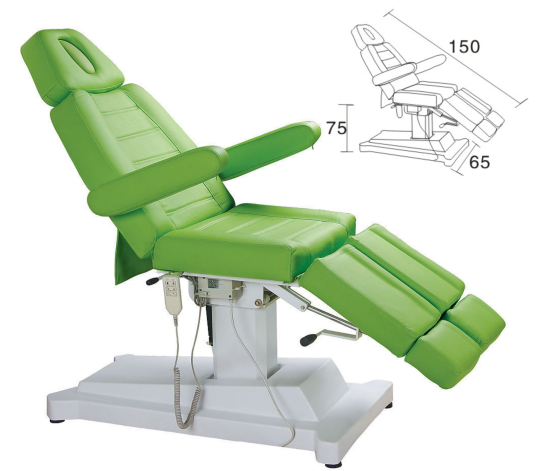 Salon Spa Electrically Controlled Beauty Bed Massage Table XY-8502