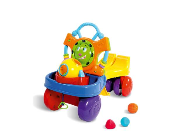 Switchable toys baby walker(ride-on or push forward)