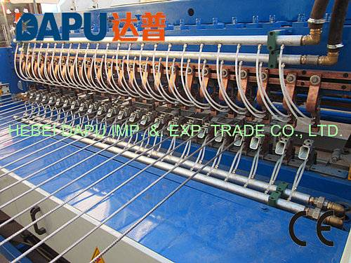 Steel bar mesh welding machine