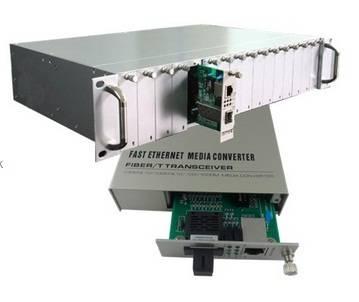 10/100M Media Converter Card