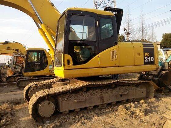 Used Crawler Excavator PC210LC-8