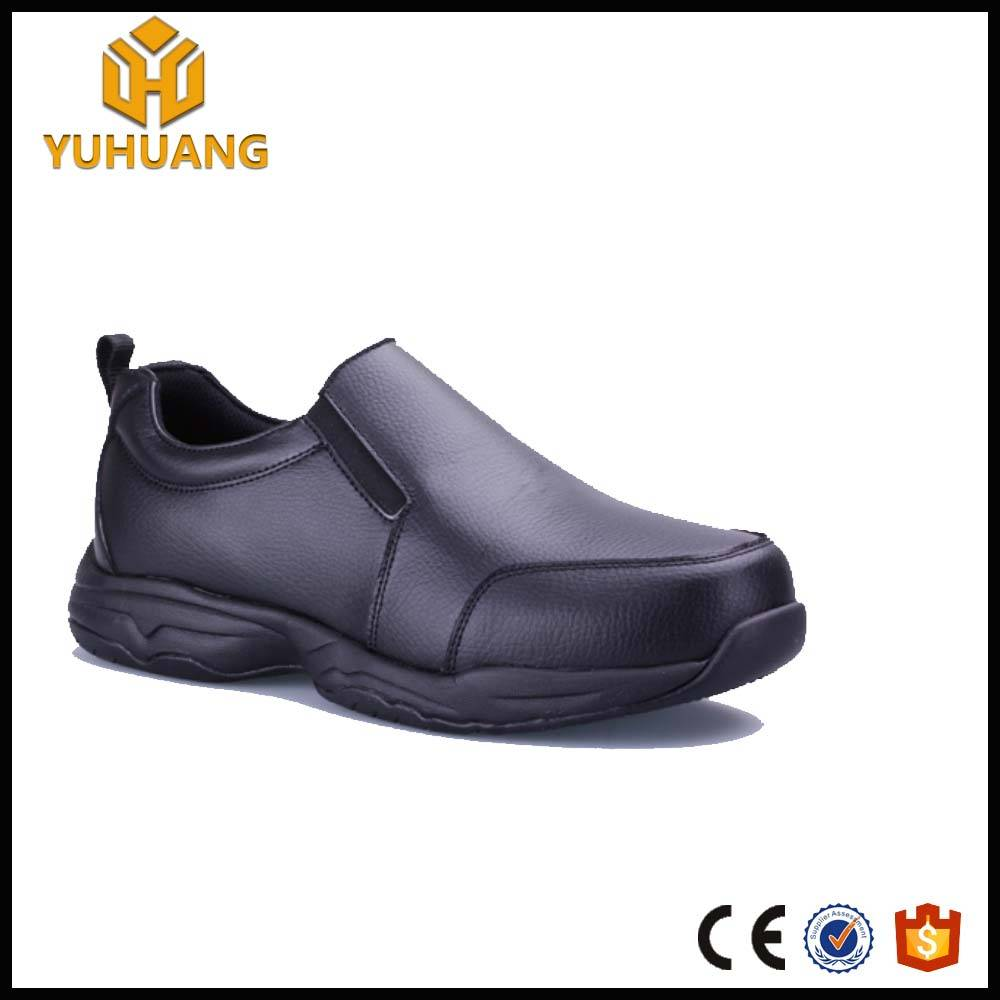 Hot selling Nubuck Leather no lace Executive safety shoes