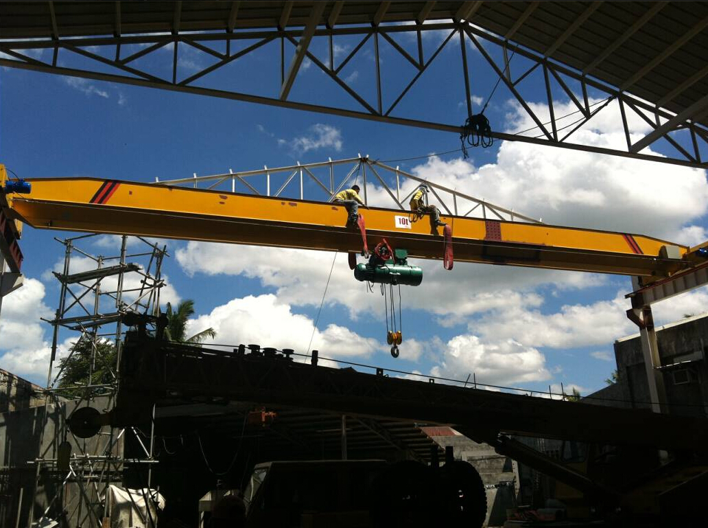 LD Model 20 ton single beam overhead crane small bridge cranes for sale