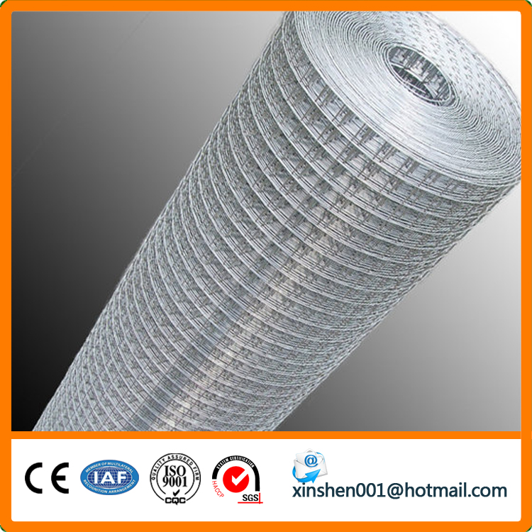 welded wire fabric coated with zinc electrro galvanized