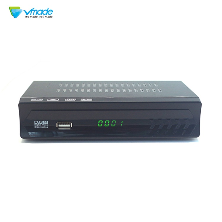 Household intelligent remote control DVB S2 receiver set top box Montage CT6001-U satellite receiver